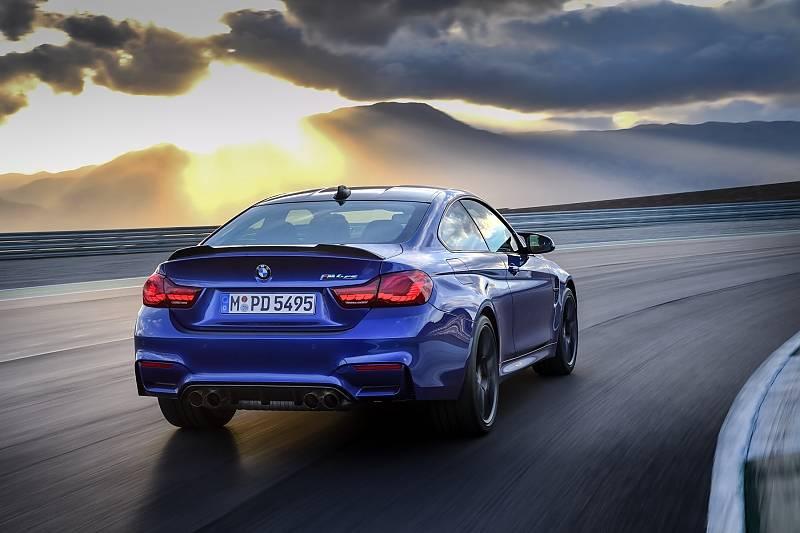 BMW M4 CS - läuft bis zu 280 km/h