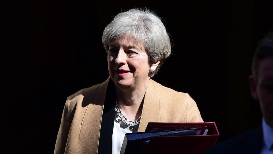 Für Premierministerin Theresa May