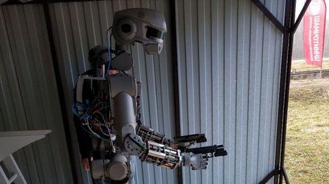Der russische Roboter Fedor