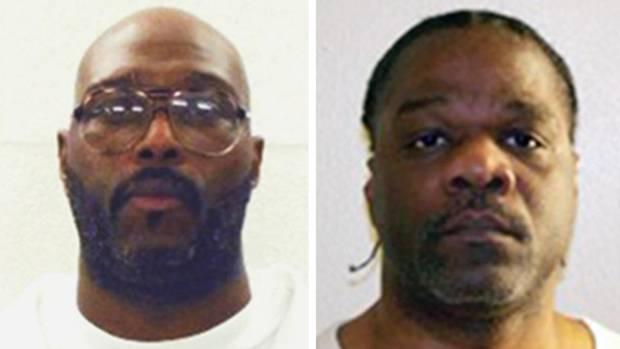 Stacey Johnson und Ledell Lee - zwei Todeskandidaten im US-Bundesstaat Arkansas