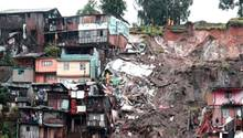 In der Stadt Manizales (Kolumbien) kam es in der Nacht auf den 19. April zu verheerenden Erdrutschen