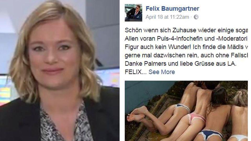 Felix Baumgartner vs Corinna Milborn