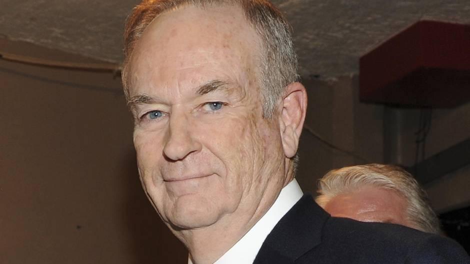 Zu sehen ist der Moderator Bill O'Reilly im Portrait.