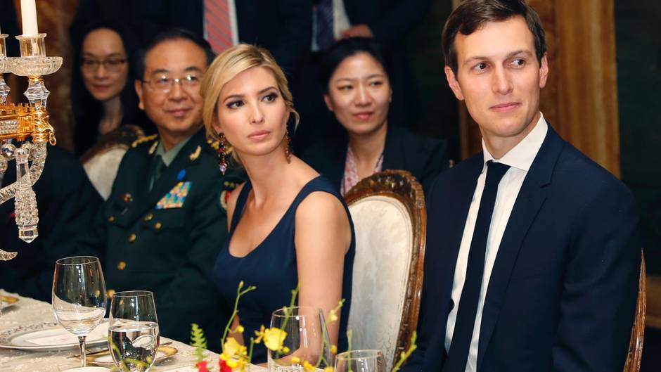 Ivanka Trump Dinner Xi