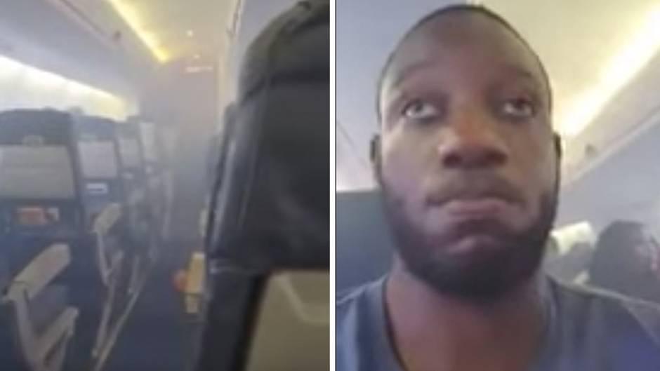 Nigerianischer Linienflug: Horrorflug: Wenn im Passagierflugzeug plötzlich Rauch ausbricht