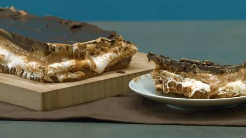 Marshmallow-Karamel-Keks-Auflauf