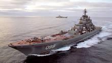 Von den Schiffen der Kirov-Klasse soll dieAdmiral Nakhimov als erstes mit Zircon-Raketen ausgerüstet werden.
