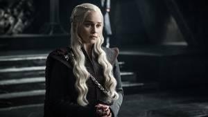 Daenerys in ihrem neuen Thronsaal.