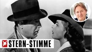 Humphrey Bogart und Ingrid Bergman in Casablanca