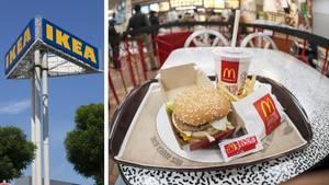 McDonald's macht Ikea Konkurrenz