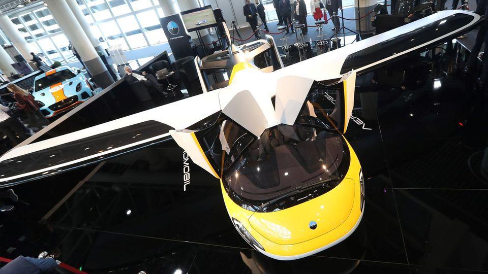 Fliegendes Auto - Aeromobil 4.0