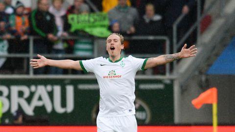 Bundesliga: Max Kruse jubelt