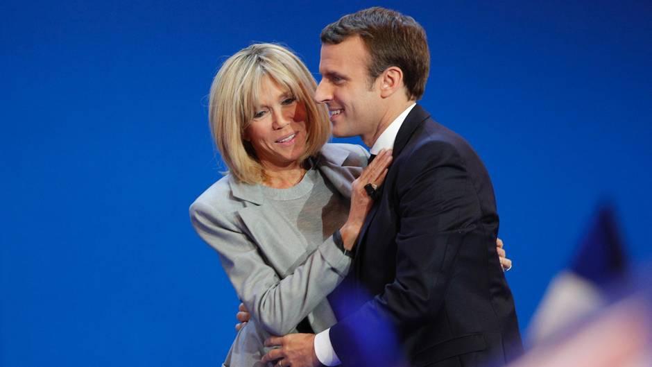 Emmanuel Macron und seine Frau Brigitte sind seit 2007 verheiratet