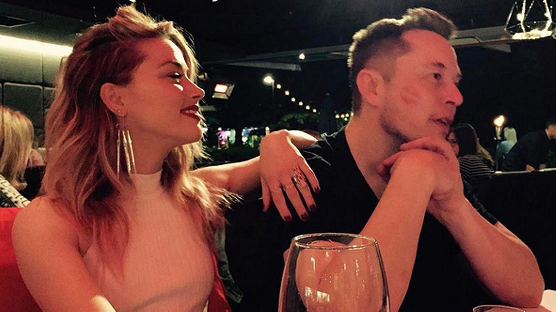 Amber Heard und Elon Musk