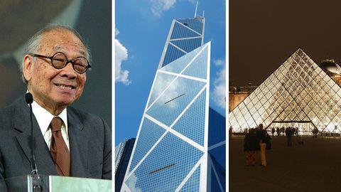 I. M. Pei wird 100 Jahre alt: Das ist der Architekt, der die Glaspyramide des Louvre gebaut hat