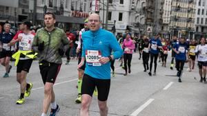 Oliver Creutz beim Marathon