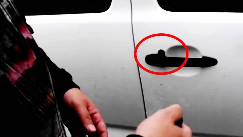 Der Trick mit der Münze: Achtung: So verschaffen sich Diebe Zugang zu Ihrem Auto