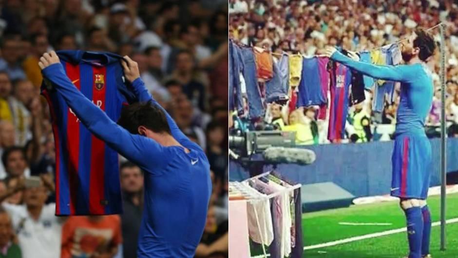 Geniale Memes zum Clásico-Jubel: Lionel Messi - erst muss er einstecken, dann zeigt er es allen