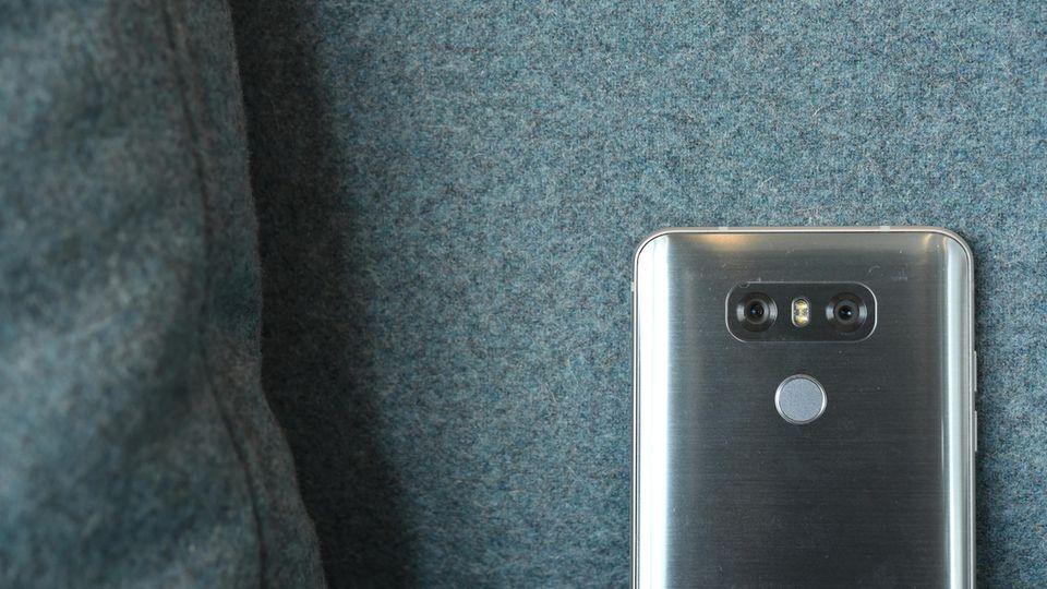 Die Doppelkamera des LG G6