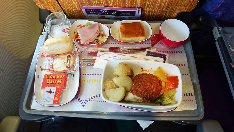 Thai Airways, Economy Class: Brisbane - Bangkok