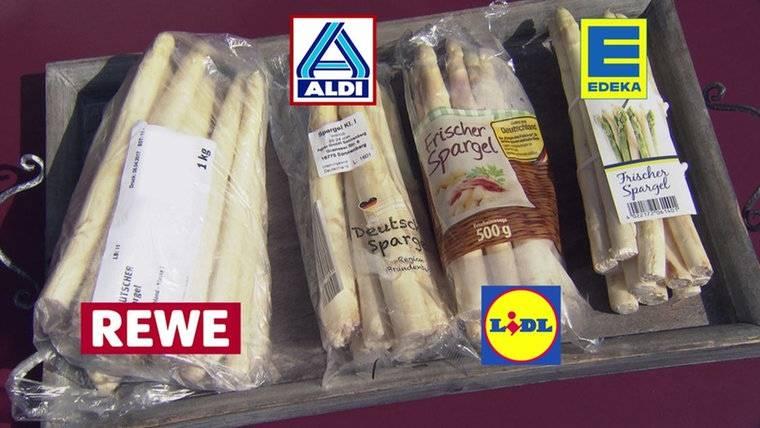 Kühlschrank Pizza Aldi : Wie gut ist spargel aus dem supermarkt? stern.de