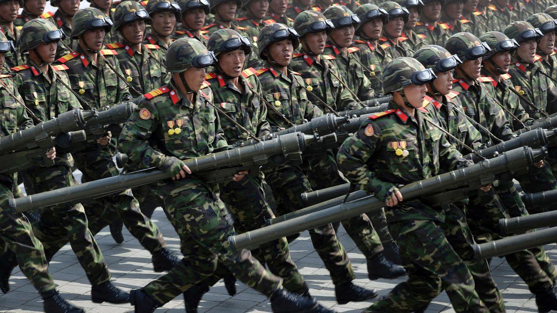 Die Armee von Nordkorea feiert am 25. April ihren 85. Gründungsjahrestag