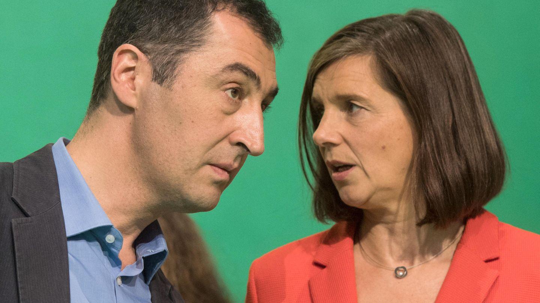 Die Grünen-Vorsitzenden Cem Özdimir und Katrin Göring-Eckardt