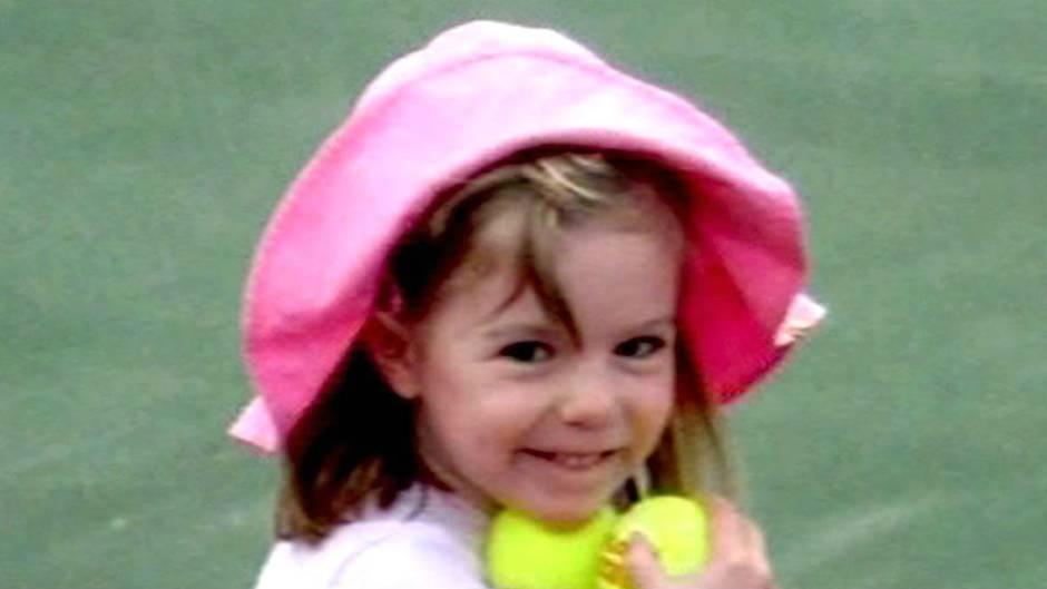 Ein undatiertes Foto von Maddie, das aus einer Videosequenz stammt