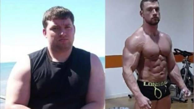 Verwandlung statt Kummer: Dieser Mann nahm fast 40 Kilo ab - aus bloßem Trotz