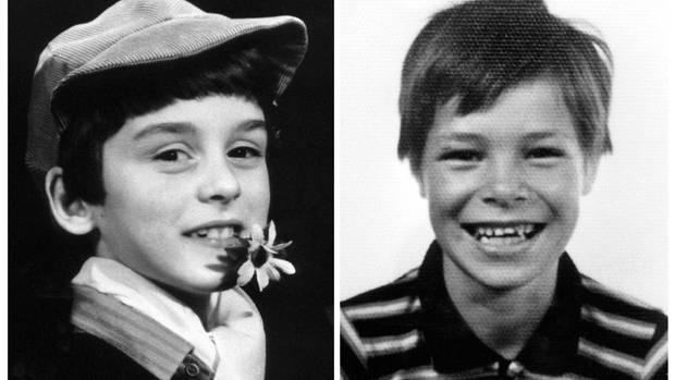 Die beiden Opfer Alexandre Beckrich (l.) and Cyril Beining wurden im September 1986 mit zertrümmerten Schädeln aufgefunden