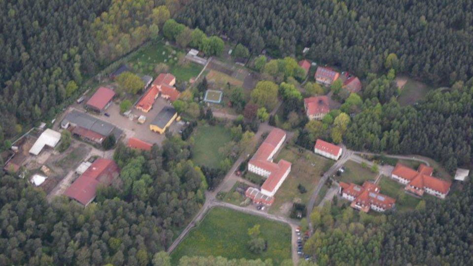 Luftaufnahme des Wilhelmshofs bei Stendal