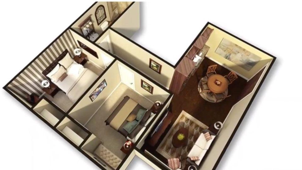 Home Security: Bonzen-Bunker: Al Corbi baut Luxus-Häuser, in denen man den Weltuntergang überleben soll