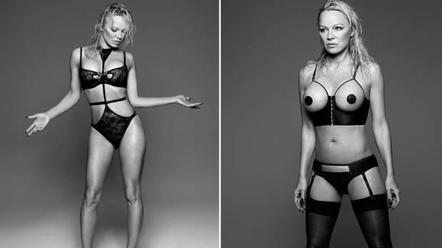 Pamela Anderson shot by Rankin for Coco de Mer