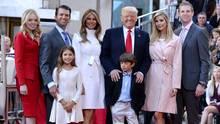 Eine schrecklich nette Familie: Donald Trump mit seinen Kindern, Enkelkindern und Ehefrau