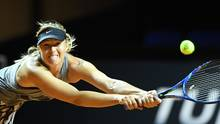 Maria Scharapowa feiert Comeback in Stuttgart