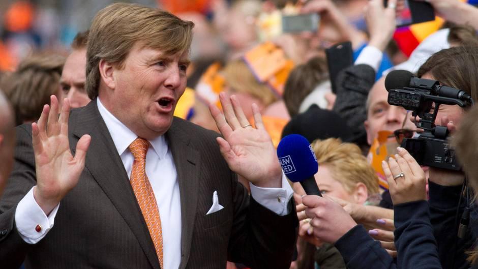 Älter, dicker, nachdenklicher - König Willem-Alexander in der ...