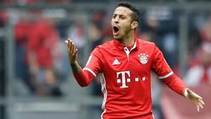 Thiago im Bayern-Trikot: Die Fans dürfen sich freuen - der Anblick dürfte noch eine Weile bleiben