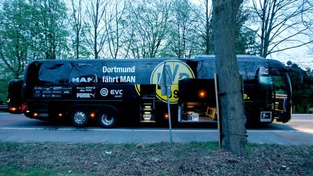 Anschlag BVB-Bus