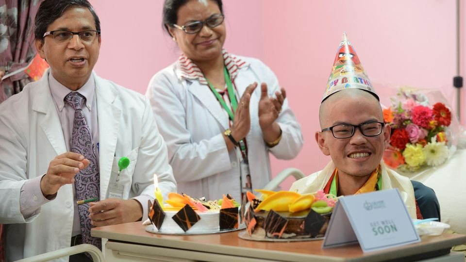 Der wochenlang verschollene Wanderer konnten im Krankenhaus seinen 21. Geburtstag feiern