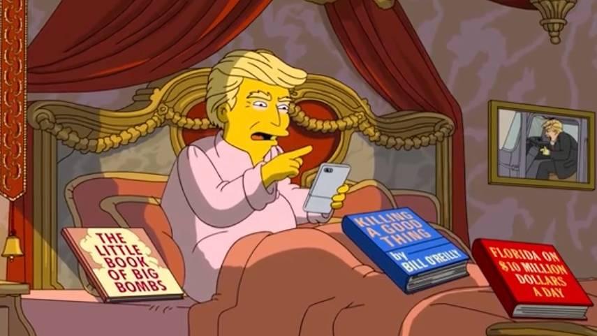 """Trailer """"The Simpsons"""": Simpsons machen sich über Donald Trump lustig"""