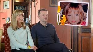 Die Eltern der seit 2007 verschwundene Maddie McCann im Interview
