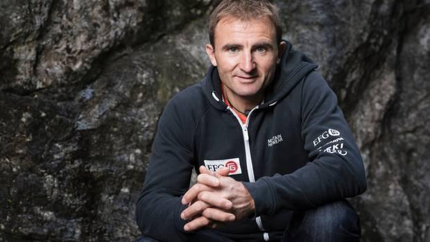 Der Schweizer Extrem-Bergsteiger Ueli Steck