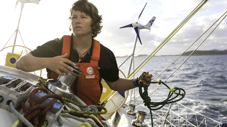 Lisa Blair wollte als erste Frau alleine die Antarktis umsegeln