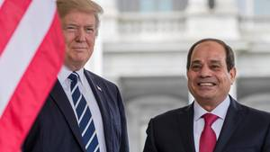 Donald Trump und al Sisi