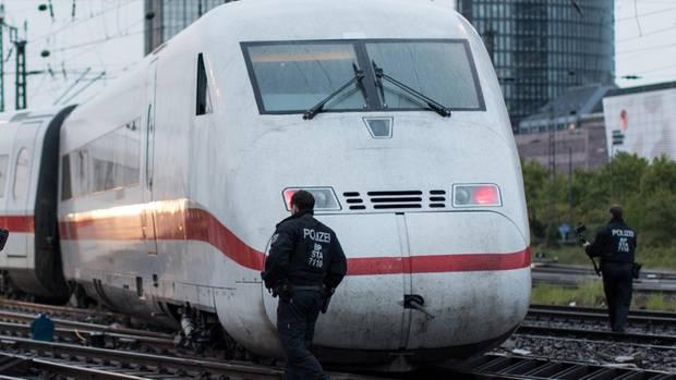 Entgleister ICE in Dortmund