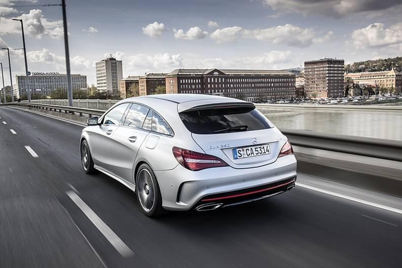 Mercedes CLA 250 4matic - das Heck gefällt - oder eben nicht
