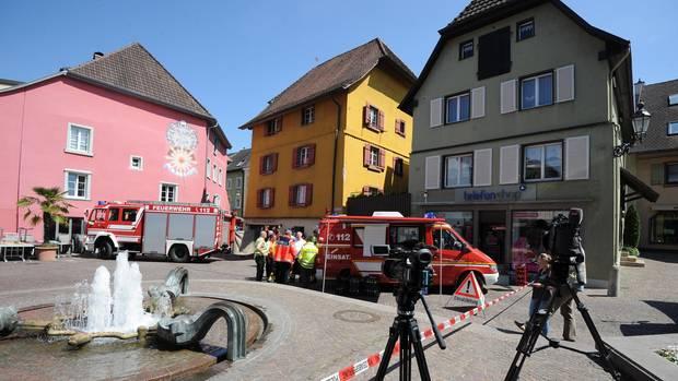 Der Tatort im Mai 2017. Zwei Menschen starben, 27 wurden verletzt.
