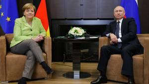 Merkel Sotschi