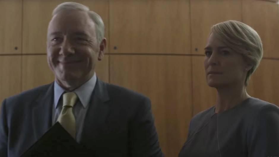 Neuer Staffeltrailer: House of Cards Staffel 5: Diese finsteren Pläne verfolgen die Underwoods