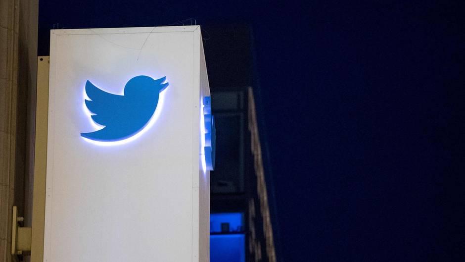 Twitter-Logo in San Francisco